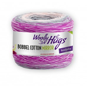 WOOLLY HUG Bobbel Cotton Mirror 200g