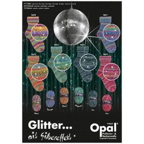 OPAL Glitter mit Silbereffekt 4-fach Sortiment *