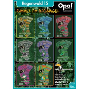 OPAL Regenwald 15 6fach Sortiment