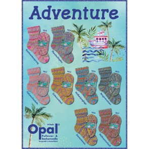 Opal Adventure 4-fach Sortiment