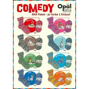 Opal Comedy 4-fach Mix (8x1Knäuel)