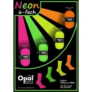 OPAL NEON 6fach 150g Sortiment