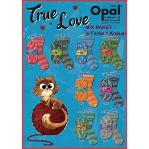 Opal True Love 4-fach Mix (8x1Knäuel)