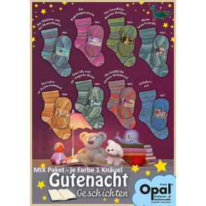 Opal Gutenachtgeschichten 4-fach Mix (8x1Knäuel)