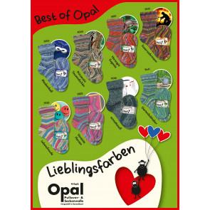 Opal Lieglingsfarben 4-fach Sortiment