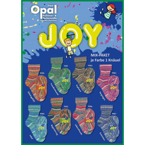 Opal Joy 4-fach Mix (8x1Knäuel)