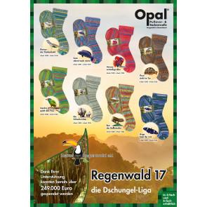 Opal Regenwald 17 4-fach Sortiment