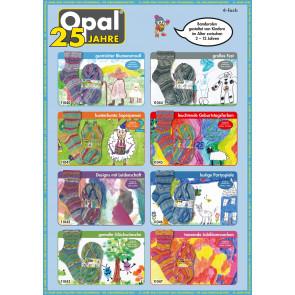 Opal Jubiläumskollektion 25 Jahre Opal 4-fach Sortiment