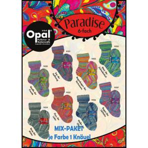 Opal Paradise 6-fach Mix (8x1Knäuel)