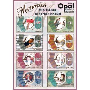 Opal Memories 4-fach (8x1Knäuel)