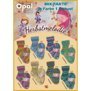 Opal Herbstmelodie 4-fach Mix (8x1Knäuel)