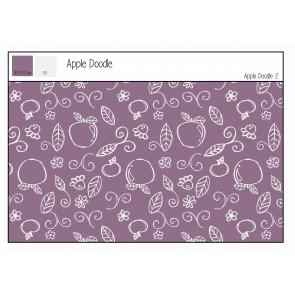 Jersey Apple Doodle 2 95%BW 5%EA, 250gr/qm, 150cm