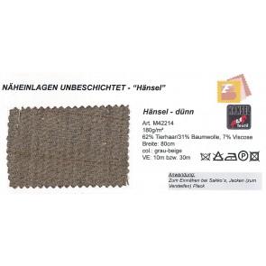 HÄNSEL Haareinl.214/grau 80cm