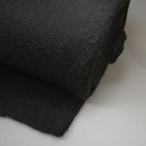 Woll-Wattelin,schwarz (70/30),140cm