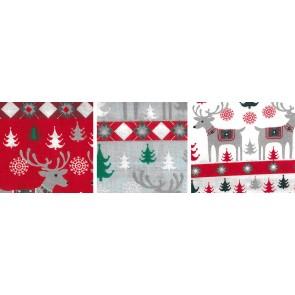 BW-Stoff Weihnachten Rentier 100%Bw. 140cm