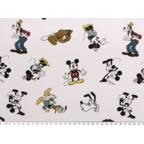 BW-Stoff Mickey Mouse 100%Bw. 140cm