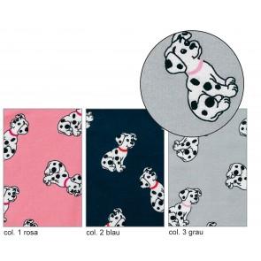 BW-Jersey Dalmatiner 95%Bw/5%Elast. 140cm