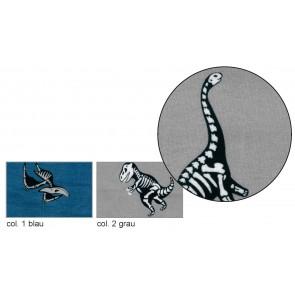 BW-Jersey Dinoskelett 95%Bw/5%Elast. 140cm