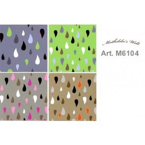 Stoff  Mathilda's Welt, 100%Bw.140cm