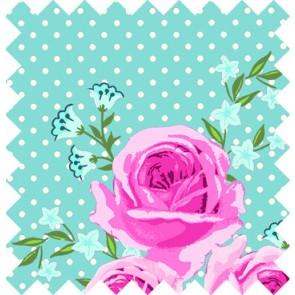 GÜTERMANN Stoffe ring a roses Summer Loft