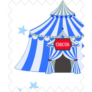 GÜTERMANN Stoffe ring a roses Circus