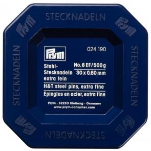 Stecknadl. ST6 silb. 0,60x30mm