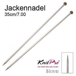 KP Nova Metal Jackenndl. - 35cm/7.00
