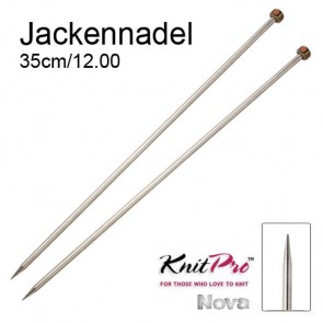 KP Nova Metal Jackenndl. - 35cm/12.00