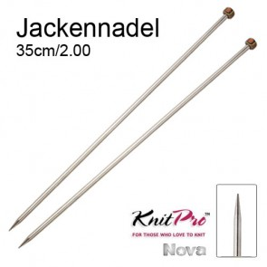 KP Nova Metal Jackenndl. - 35cm/2.00