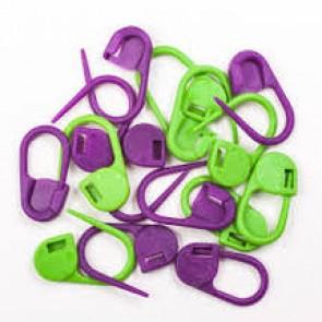 Knit Pro verschließb.Maschenmarkierer (30Stk)