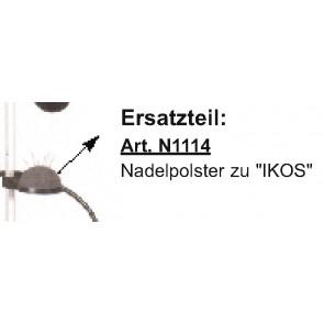 "Nadelpolster zu ""IKOS"" RAG."