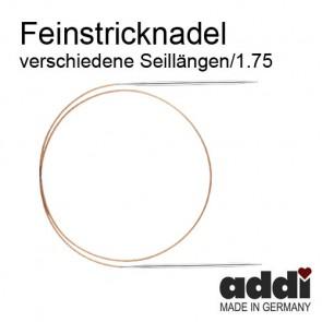 Rund+Feinstrickndl.ADDI ni 1,75  #