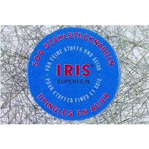 IRIS Stahlsteckndl. 0,55mm/32mm(500Stk.)