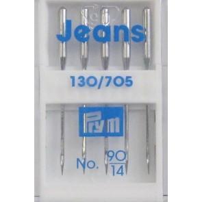 Prym Maschinndl. Jeans 90(a 5Stk.)
