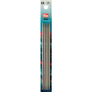 Stricksp. Prym Alu/gr. 15cm/2,5