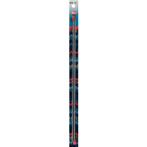 Strickn.Prym grau 35cm/  2,5