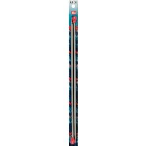 Strickn.Prym grau 35cm/  5,0