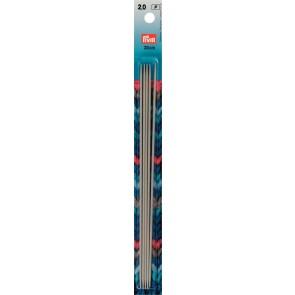 Strickspiel Prym gr.20cm/ 2,0