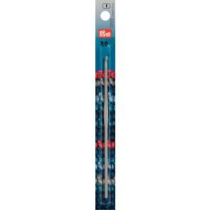 Häkelndl.PRYM grau 15cm/ 3,0  #
