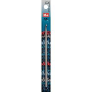 Häkelndl.PRYM grau 15cm/ 3,5  #