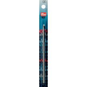 Häkelndl.PRYM grau 15cm/ 4,0  #