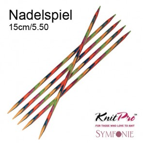KnitPro Strickspiel (5) 15cm/5,5