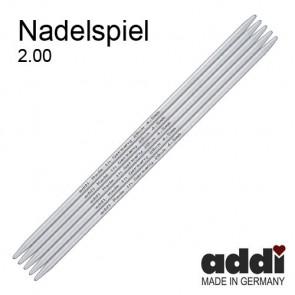 Stricksp. ADDI gr.10-20cm/2,0