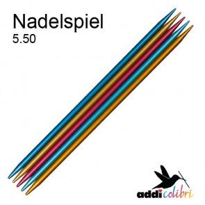 Stricksp. ADDI Colibri 23cm/5,5
