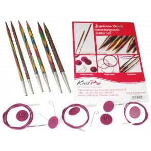 KnitPro Starterset 3 Ndl (4,5,6) + 3 Seile