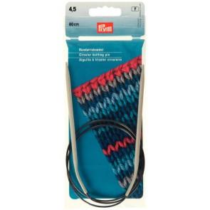 Rundstrick.Prym grau/80cm 4,5