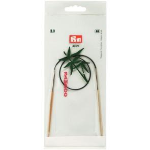 Rundstric.PRYM Bambus/40cm 3,0 #