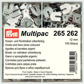 Hosenhaken Multipac 12mm/silb.