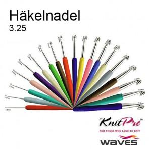 KnitPro Wave Häkelndl. 3.25