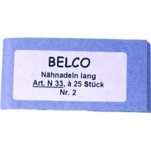 Handnähndl. BELCO Nr. 3-7 lang